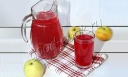 яблочный компот, рецепт приготовления