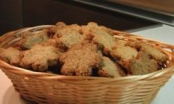 Печенье овсяное с грецким орехом