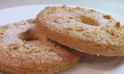 Песочное пирожное с миндалем