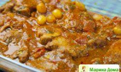 Филе свинины в томатном соусе