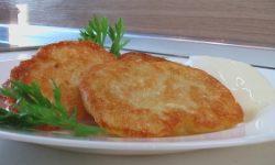 Картофельные оладьи (на дрожжах)