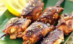 Шашлычки якитори из курицы