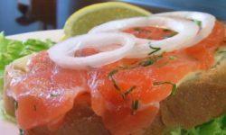Быстрая засолка лососины