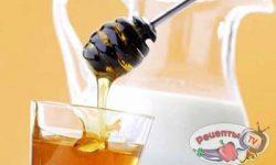 Коктейль молочно-медово-лимонный