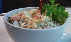 Сырный салат