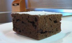 Шоколадный кекс за 35 минут