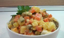Салат «Рассол овощной»