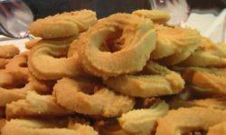 Печенье песочное «Колечки»