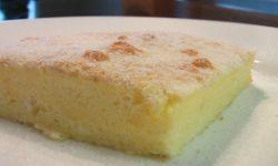 Воздушный пирог с ванилью видео рецепт