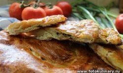 Слоёные лепёшки с сыром