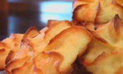 Печенье из творога и миндаля