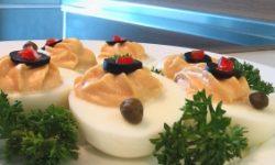 Острые пикантные яйца