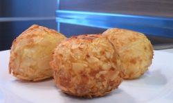 Картофельные крокеты с миндалем