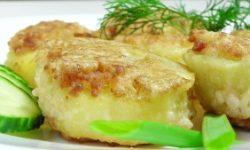 Панированный картофель