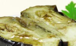 Баклажаны с соусом винегрет