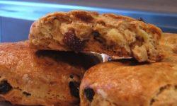 Песочное печенье с изюмом без сахара