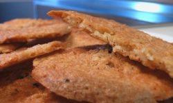 Тонкое овсяное печенье
