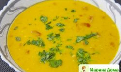 Суп из оранжевой чечевицы