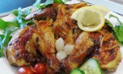 Кукурузный цыпленок в цитрусовом маринаде