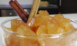 Десертное яблочное варенье