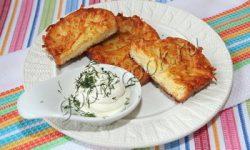 гренки с картофелем. Рецепт приготовления
