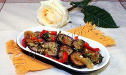 баклажановый салат по-итальянски. Рецепт приготовления