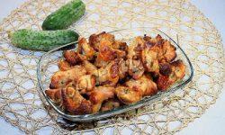 хрустящие запеченные куриные хвостики. Рецепт приготовления