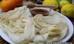 Марокканские слоистые блинчики