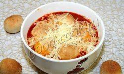 пицца-суп, рецепт приготовления