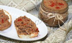 паштет из куриной печени с фасолью. Рецепт приготовления