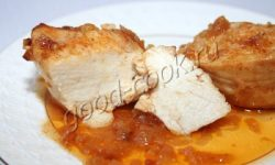 запеченная горчично-медовая курица. Рецепт приготовления