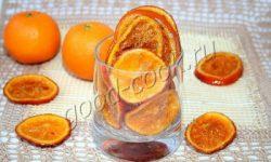 апельсиновые дольки (цукаты), рецепт приготовления