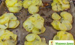 Запеченный картофель – почти порционный