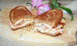сэндвич «Рубен» (Reuben Sandwich). Рецепт приготовления