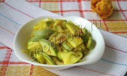 кабачки маринованные с луком. Рецепт приготовления