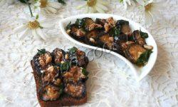 печёные баклажаны в ореховом соусе. Рецепт приготовления