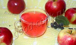 компот из яблок, рецепт приготовления