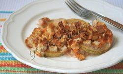 кабачки, запечённые со сметаной и сыром. Рецепт приготовления