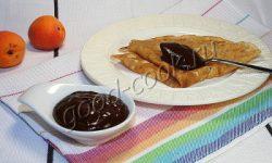 абрикосово-шоколадный соус, рецепт приготовления