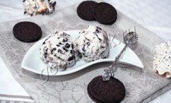 мороженое с печеньем «Орео», рецепт приготовления