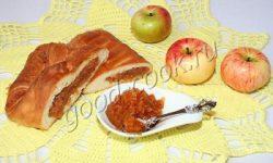 яблочная начинка для пирогов, рецепт приготовления