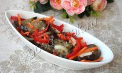 маринованные баклажаны по-грузински. Рецепт приготовления